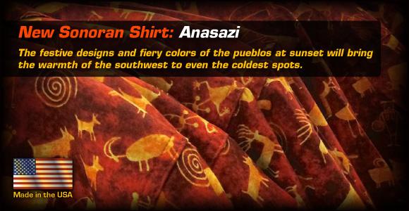 New Sonoran Shirt: Anasazi