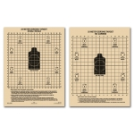 All-Weather 25 Meter Zeroing Targets