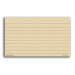 "All-Weather Index Cards 3"" x 5"", Tan"