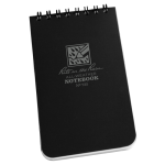 "Black Tactical Pocket Notebook 3"" x 5"""