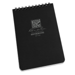 "Black Tactical Pocket Notebook 4"" x 6"