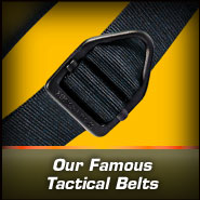 Our Famous Tactical Belts