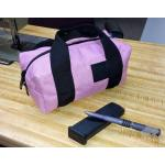 The Micro Duffel, pink